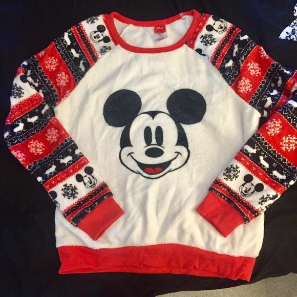 Disney Ugly Christmas Sweater.New Disney Ugly Christmas Sweater Mickey